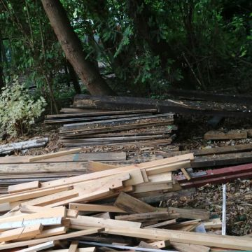 sloophout voor hergebruik