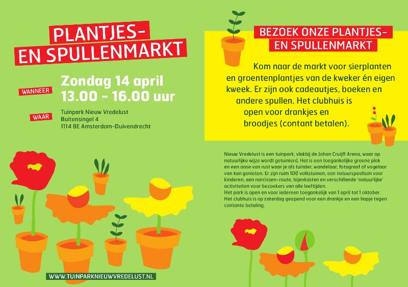 plantjesmarkt 2019 nieuw vredelust duivendrecht uitjes amsterdam